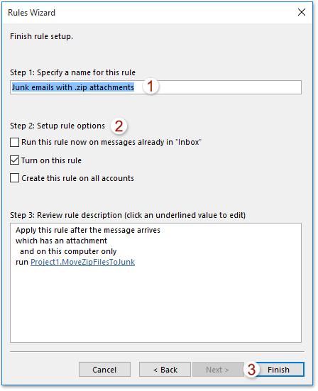Blocking zip files