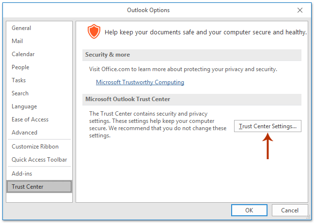 How to block tracking / read receipt in Outlook emails?