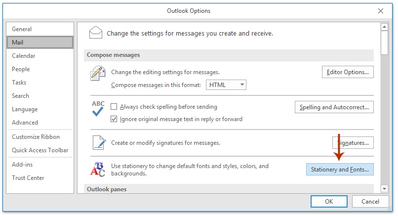 How To Change Default Email Template In Outlook
