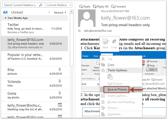 How to copy or save all inline/embedded images from one