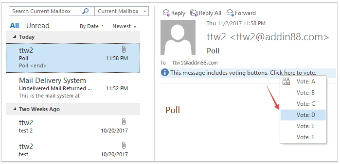 How To Create A Poll In Outlook