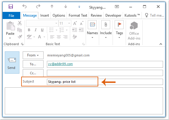 doc auto add text to subject 3