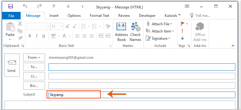 doc auto add text to subject 6