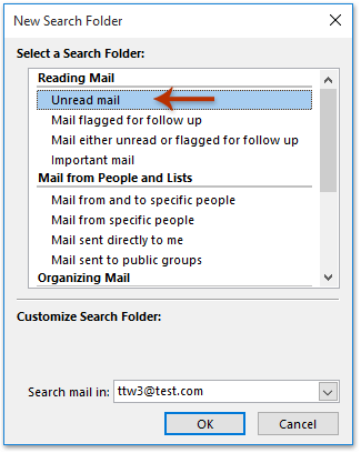 How to delete all unread emails in Outlook?