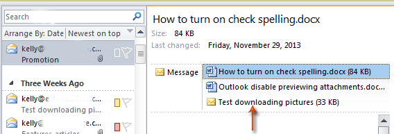 How to remove all attachments from email in Outlook?