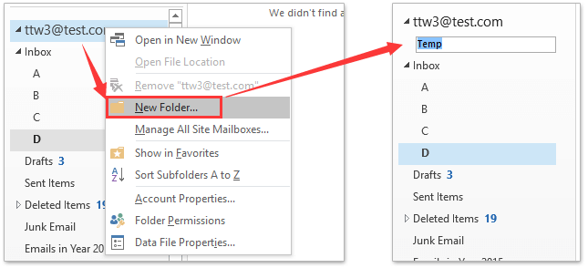 How to delete multiple folders/subfolders in bulk in Outlook?