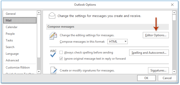 outlook overtype shortcut