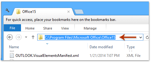 How to create a desktop shortcut for Outlook calendar
