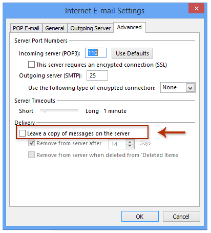 How to avoid/prevent downloading duplicate emails in Outlook?