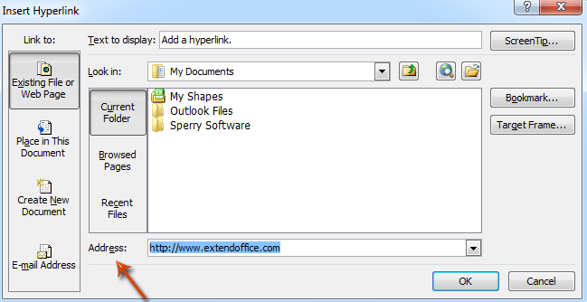 How to add and remove hyperlinks in Email in Outlook?