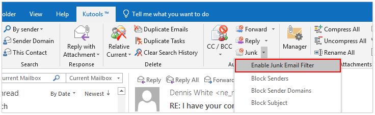 doc add sender to safe blocked list 1