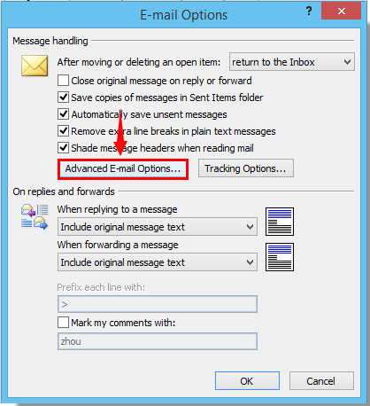 How to disable autocomplete name suggesting in Outlook?
