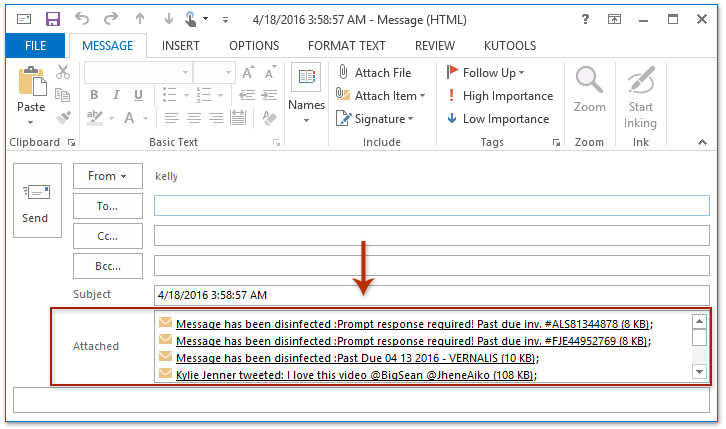 How to forward multiple emails individually at once in Outlook?
