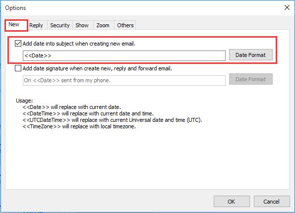 meilleures lignes de ramassage pour les applications de datation