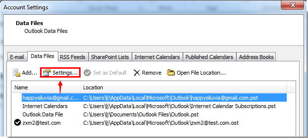 How to open Outlook with password?