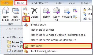 how to eliminate unwanted email