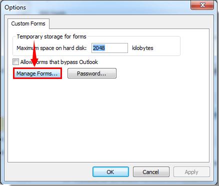 Wie Kann Ich Ein Benutzerdefiniertes Formular In Outlook Entfernen