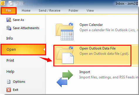 create archive folder in outlook 2019