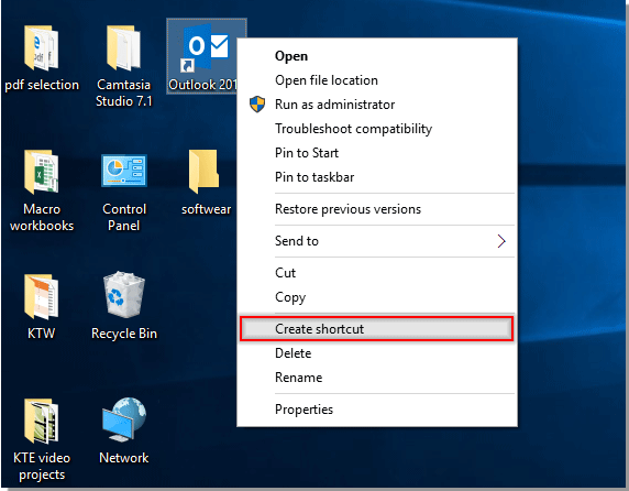 How to start Outlook minimized or minimized to tray?