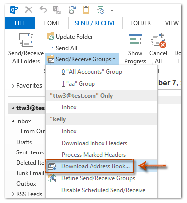 How To Download Address Book In Outlook