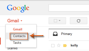 How to export Outlook contacts to Gmail?