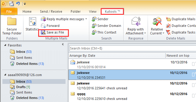 doc export email to excel file 9