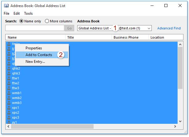 Manually update or reset the offline address book msoutlook. Info.