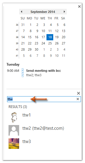 How to add contacts to favorites in Outlook?