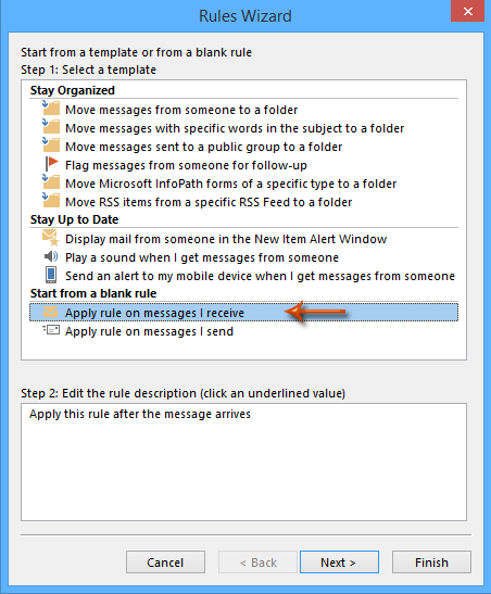 How to filter external emails automatically in Outlook?