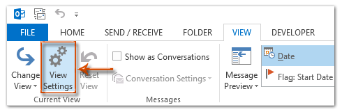 How to hide birthday appointments in calendar in Outlook?