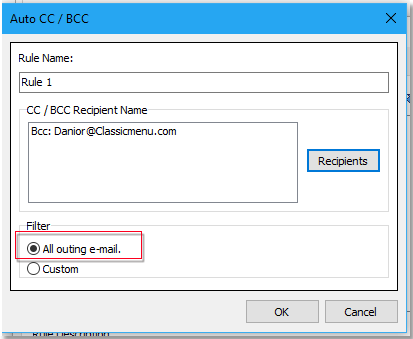 doc hide email address while sending 7