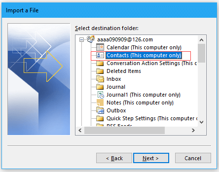 doc import contacts from excel 9