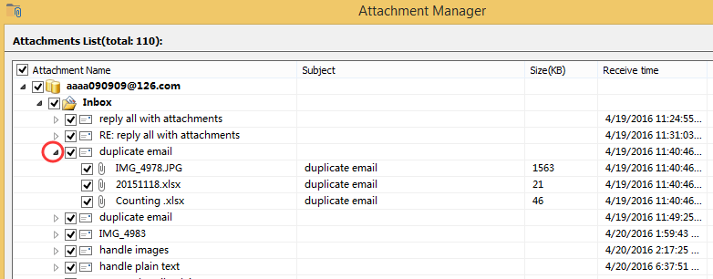 doc list email with attachment 7