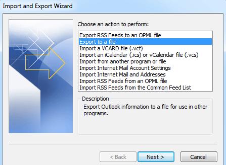 Esportare Calendario Outlook.Come Esportare Un Calendario Da Outlook Come File Pst