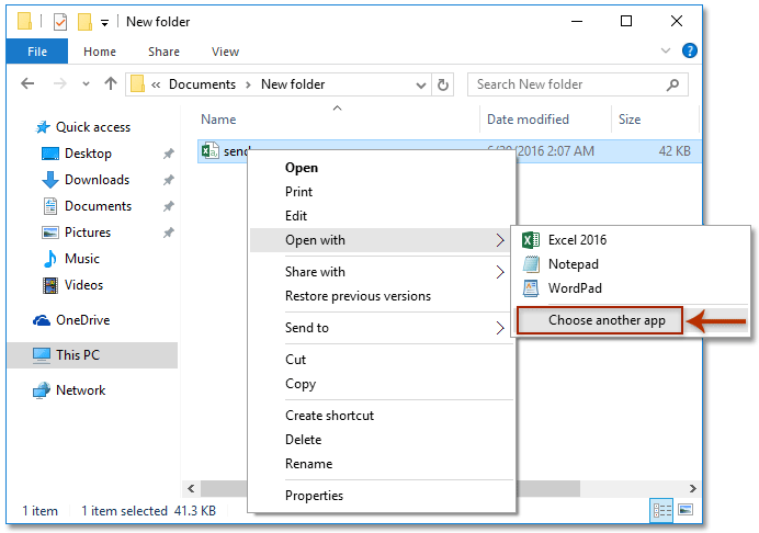 How to change default programs (file associations) to open