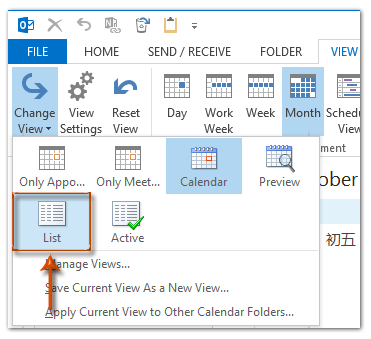 How to remove all birthday reminders in Outlook?