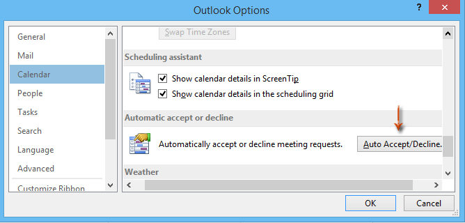 How to remove canceled meeting from calendar in Outlook?
