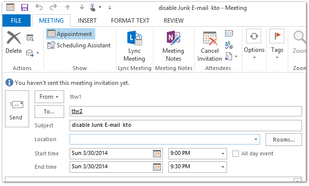 How To Reply All As Meeting Request In Outlook