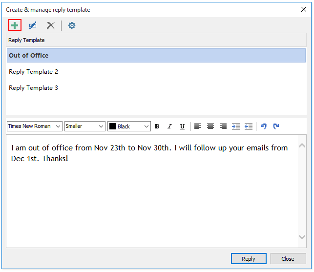 doc reply multiple emails with template 03