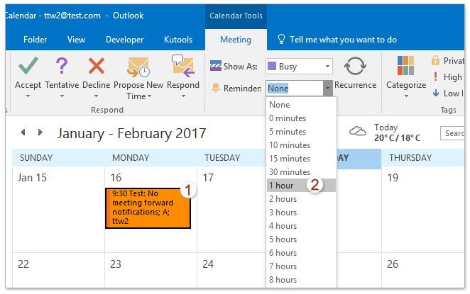 How to undo dismiss/retrieve reminders in Outlook calendar?