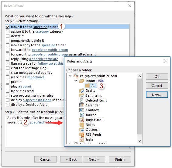 How to set rule if subject does not contain certain words in