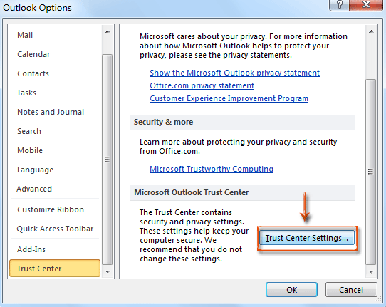 How to enable and disable macros in Outlook?
