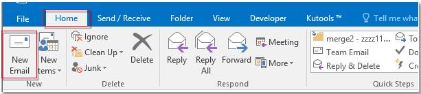 שלח emel עם חשיבות נמוכה גבוהה