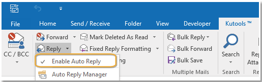 doc set auto reply to each sender 15