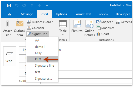 How to import and export signatures in Microsoft Outlook?