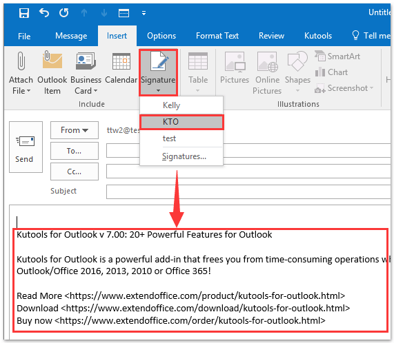 microsoft office 2016 outlook signature not working