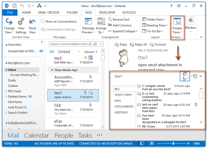 How to disable/turn off social connector in Outlook?