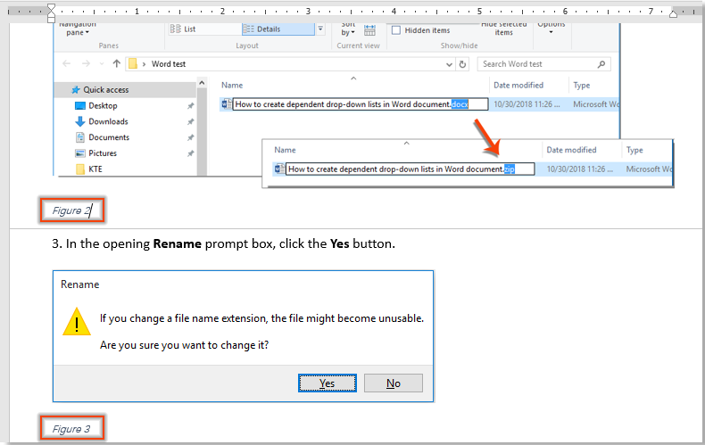 How to automatically add captions to images in Word document?