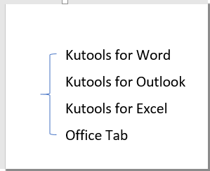 How To Draw Bracket In Word