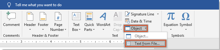 How to combine multiple documents into one PDF file in Word?